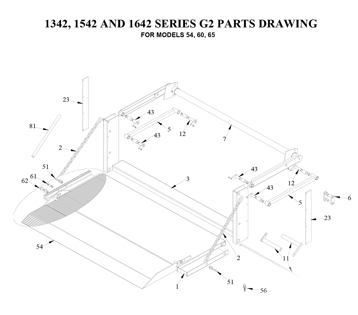 Liftgate Diagrams Tommy Gate Parts Shop Ite Eagle Lift Wiring Diagram G2 42 2 Of Service Body Pickup