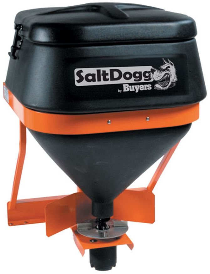 SaltDogg TGS01B - 8 Cubic Foot Tailgate (Hitch Mount) Spreader