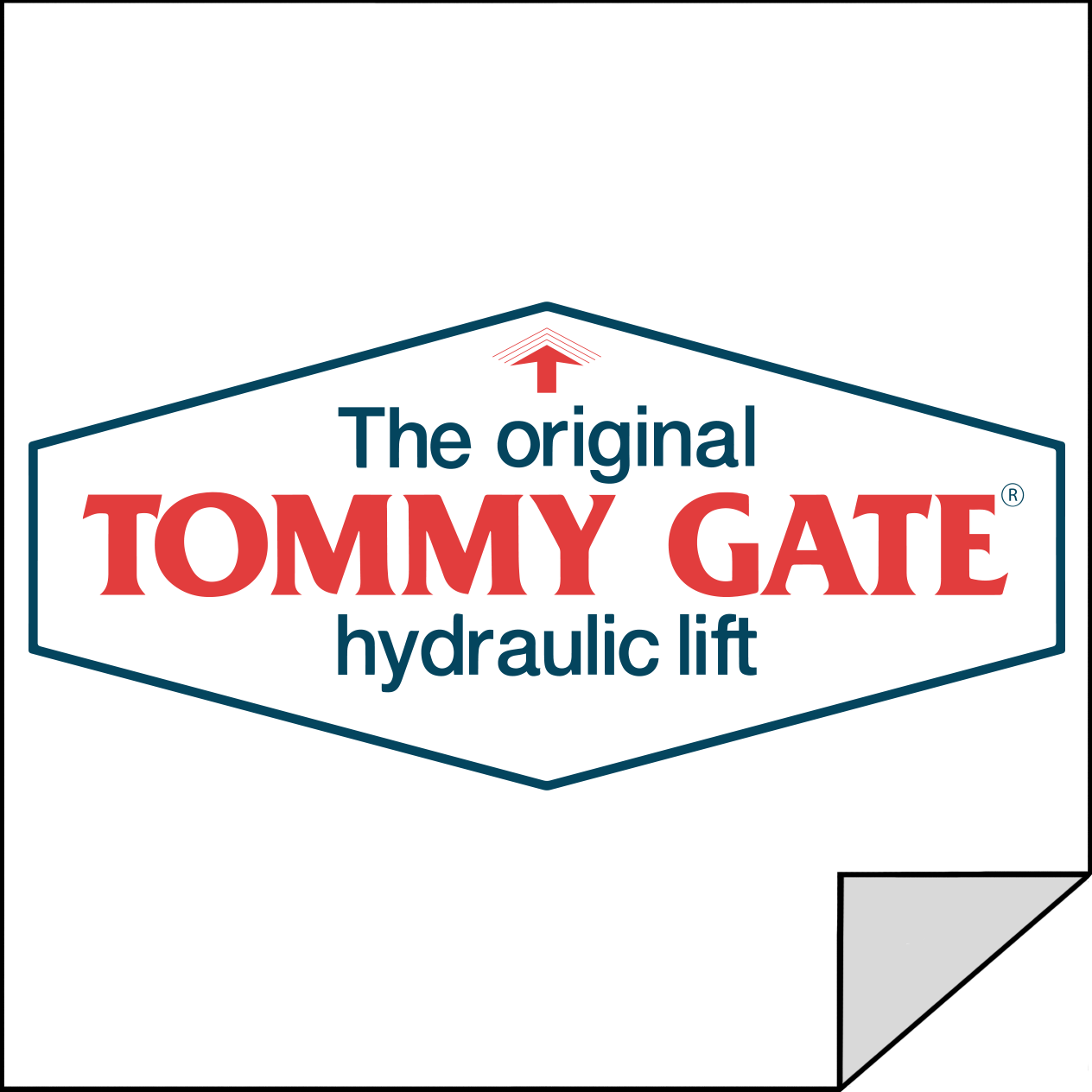 Tommy Gate 1010 - G2 Replacement Drop Away Pin Assembly