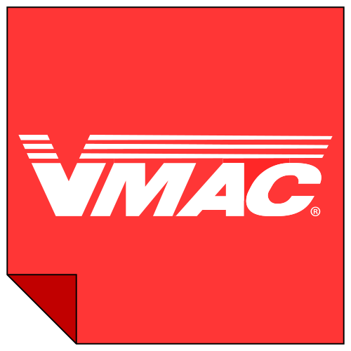 VMAC 1300010 - 8 Rib Steel Serpentine Back Idler