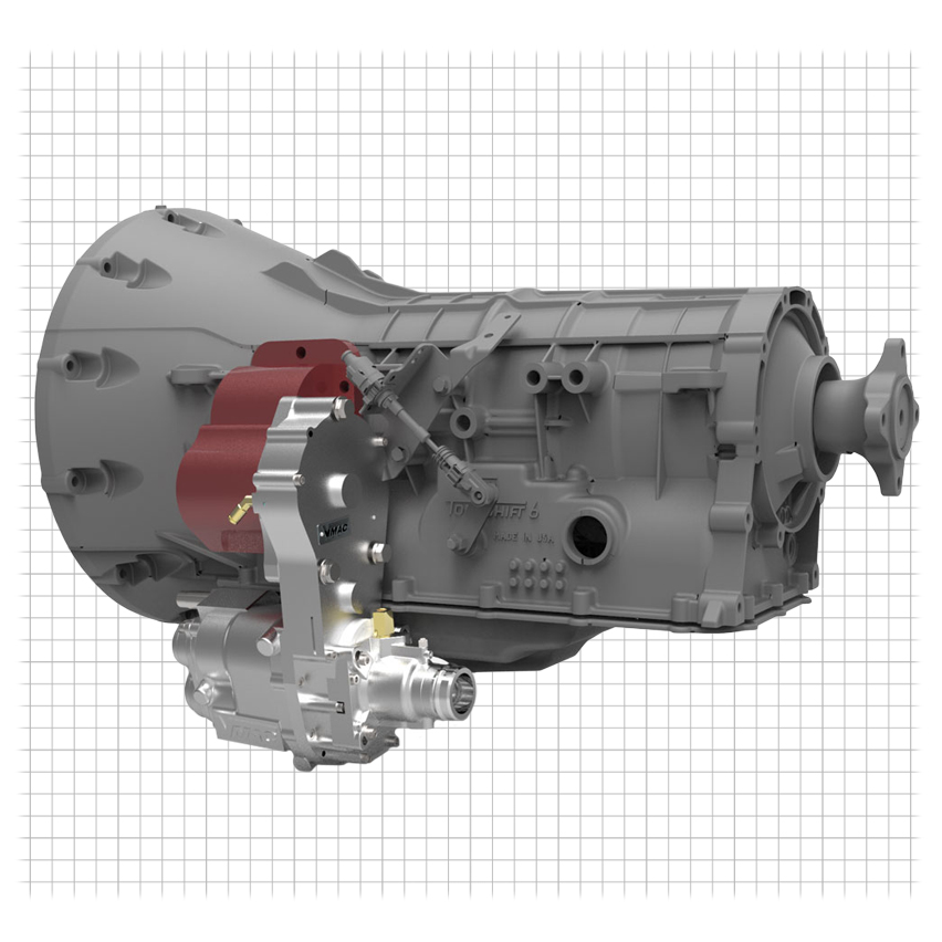 Direct Transmission Mounted Air Compressor And Multi-Power Systems Parts