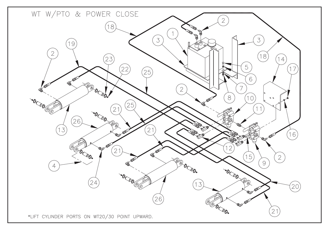 Eagle Liftgate Wiring Diagram from iteparts.com